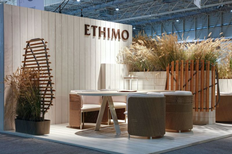 Emmanuel Gallina designs Clostra outdoor privacy screen for Ethimo