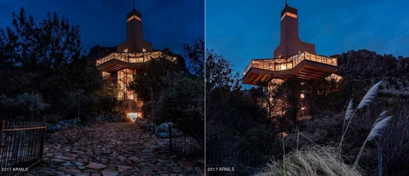 Falcon Nest: North America's tallest single-family home up for sale again