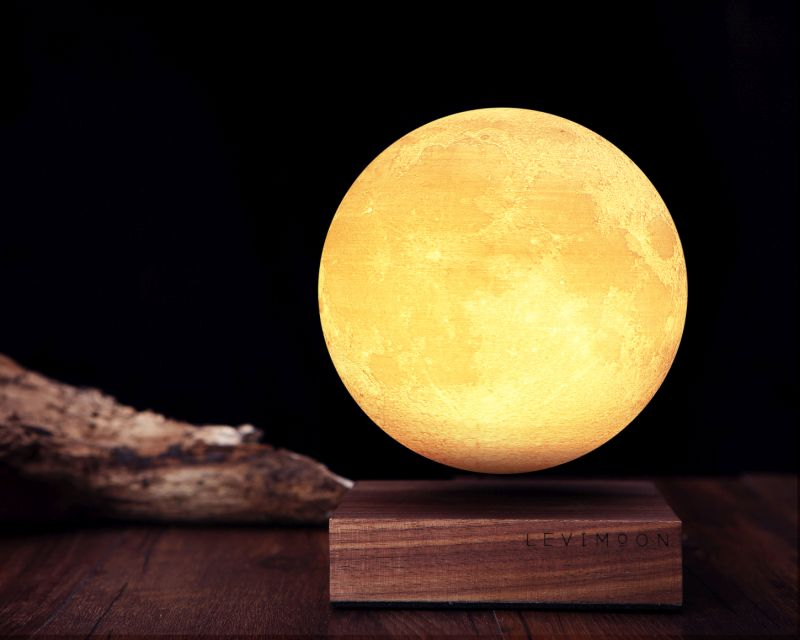 Levimoon is a Gravity-Defying Nightlight for Your Bedroom