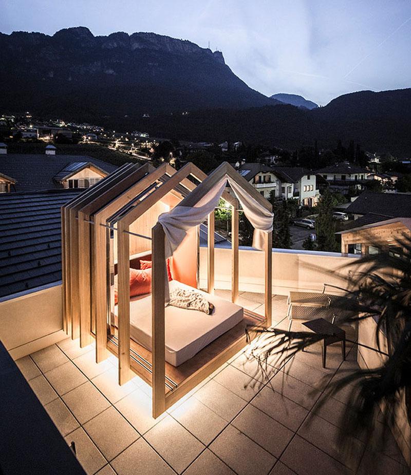 Noa Creates Terrace Cabana At Das Panorama Hotel