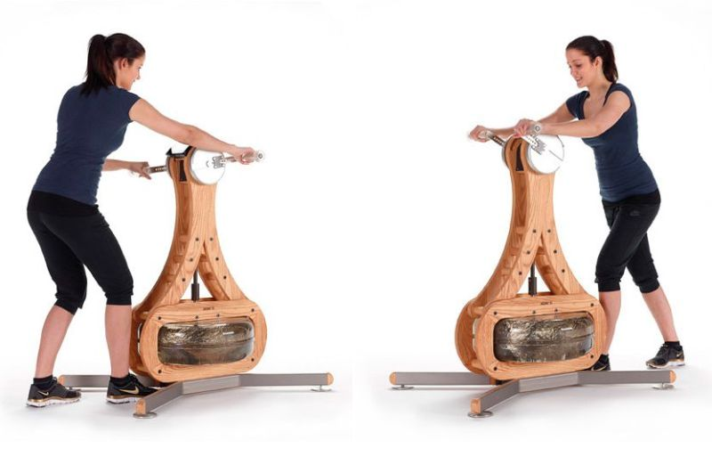 NOHrD WaterGrinder fitness machine