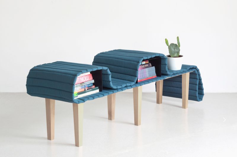 Operio shape-changing furniture by Bina Baitel takes a cue from Pharrell's hat