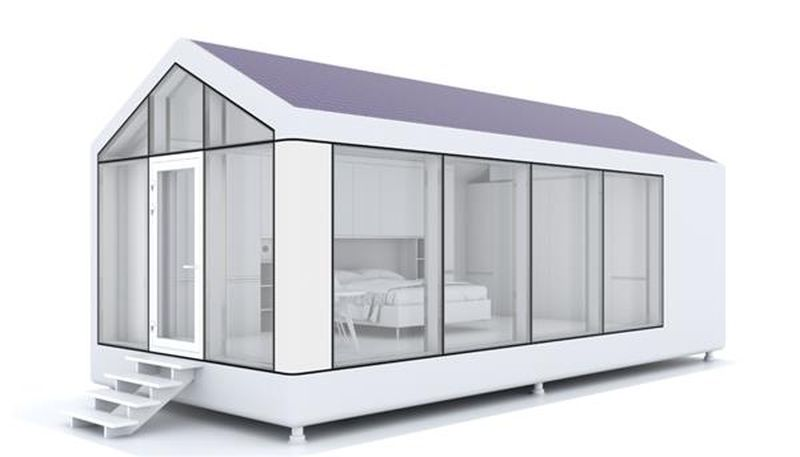 PassivDom's 3D printed houses