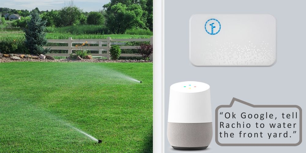 Rachio smart sprinkler controller gets Google Assistant integration