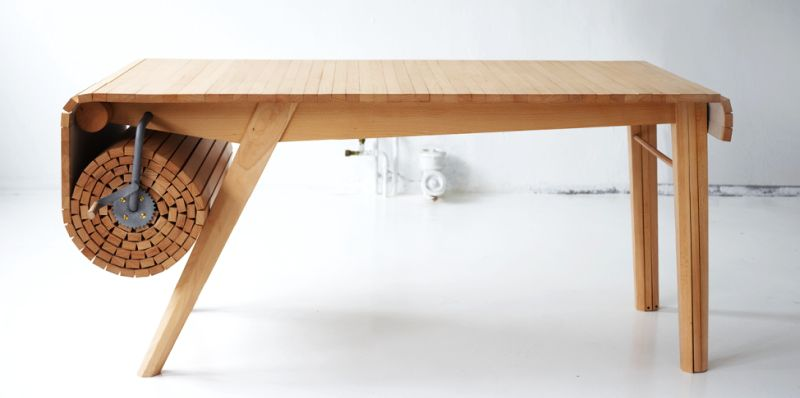 Roll-Out table by Marcus Voraa