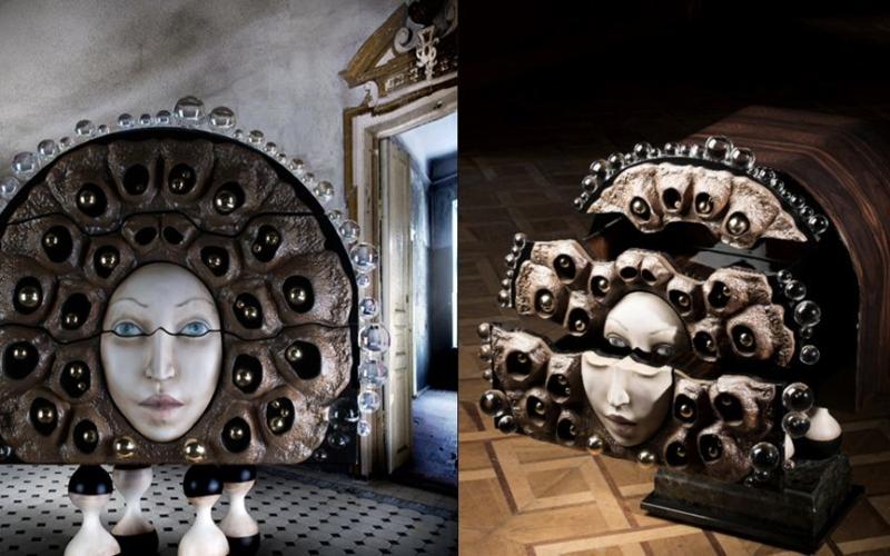 Egli Design's sculptural cabinets bring fantasy to the real world