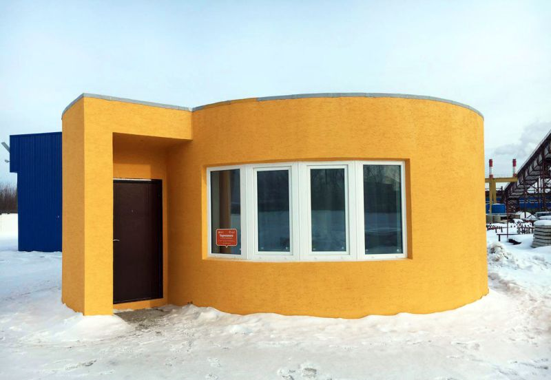 this 3d printed house is built in 24 hours costs just 10k