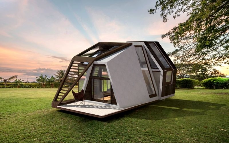 This prefab tiny home can be shipped to your desired location