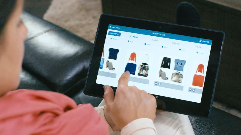ThreadRobe smart wardrobe dispenses clothes on demand