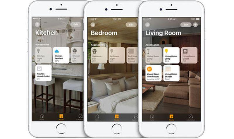 apple new home app