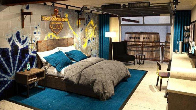 brewdog hotel bedroom