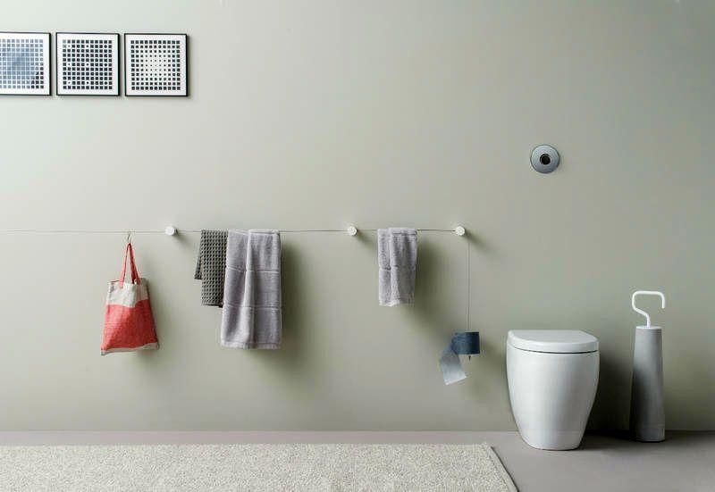 dot towel holder
