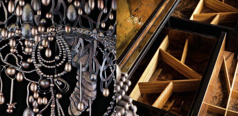 necklace cognac bar
