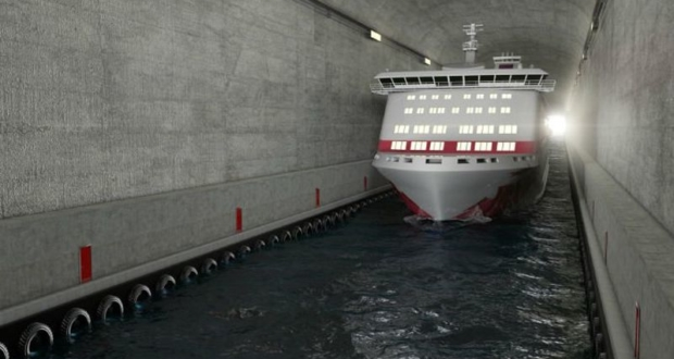 world's first ship tunnel