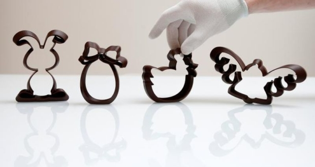 3D printed chocolate