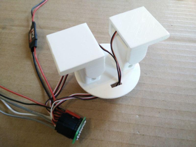 3D printed robotic dancing teapot