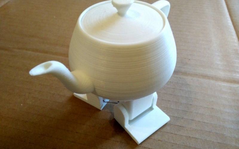 You can build your own 3D printed robotic dancing teapot