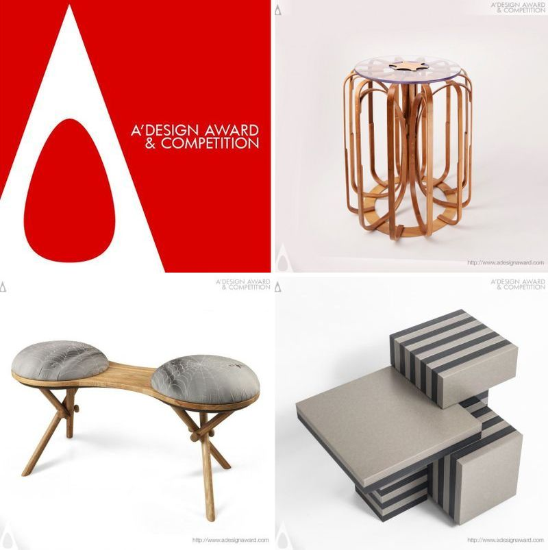 A' design Awards and Competition 2017 Furniture category