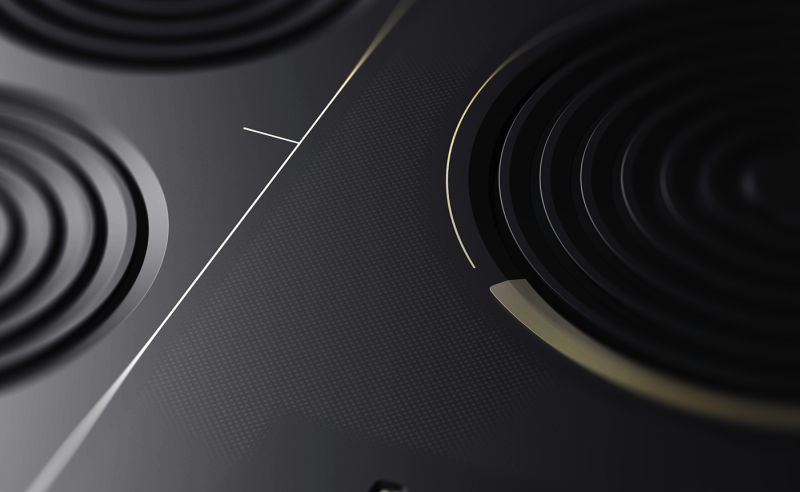 Amphi induction cooktop features shape-changing heat rings to fit woks