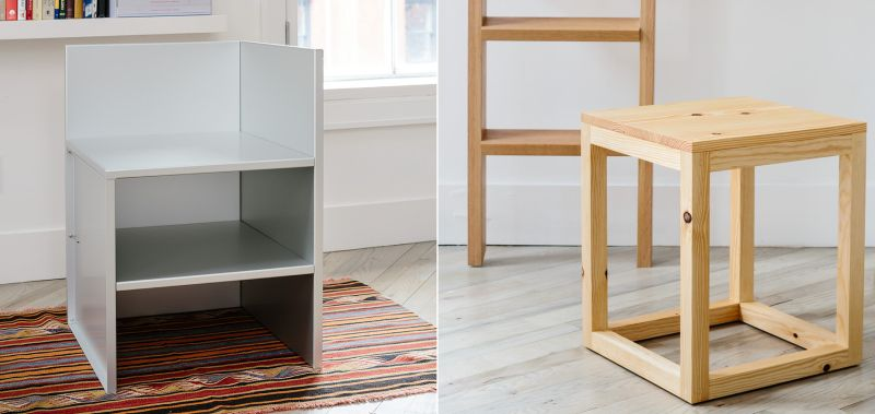 Donald Judd's minimal furniture on sale, for the first time