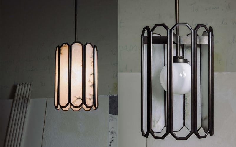 Garnier & Linker's Echo Alabaster: A remarkable antique art décor lantern