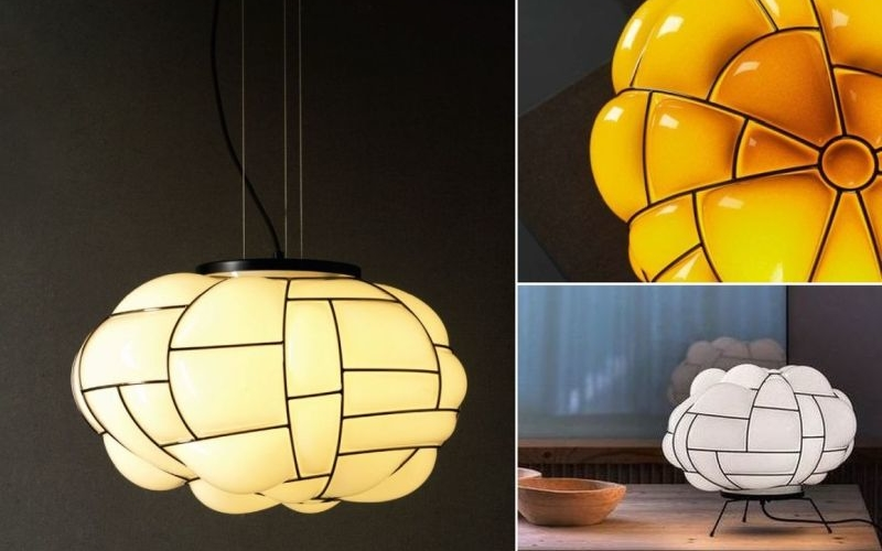 Admire beauty in irregularity of Pallucco's Egg Lamp