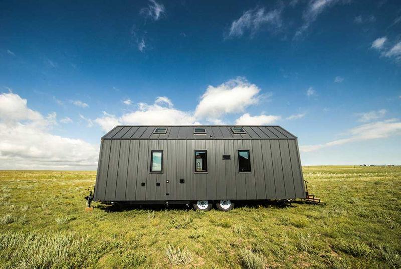 Tiny Home Designs: Farallon Is Farmhouse-inspired Tiny Home On Wheels