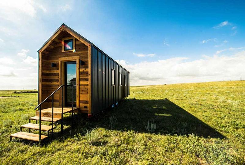 farallon is farmhouse inspired tiny home on wheels loft study room ideas loft study room