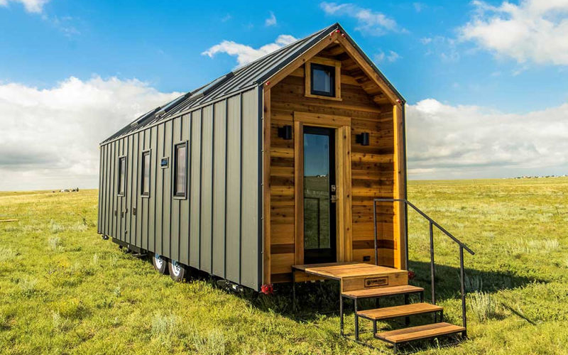 Farallon is farmhouse-inspired tiny home on wheels