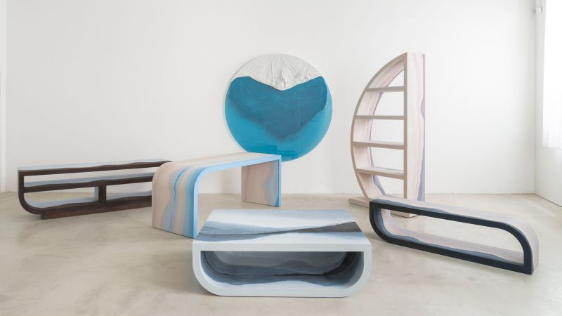 Fernando Mastrangelo's Escape furniture series