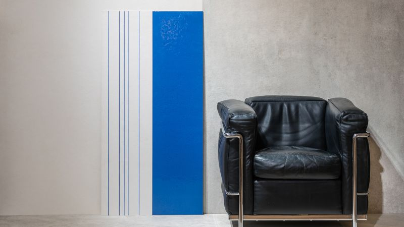 Gigacer unveils tile collection based on Le Corbusier's color guide