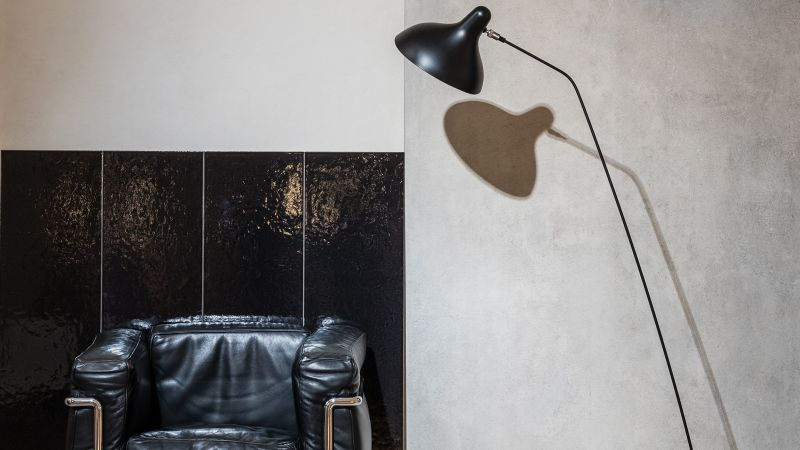 unveils tile collection based on Le Corbusiers color guide