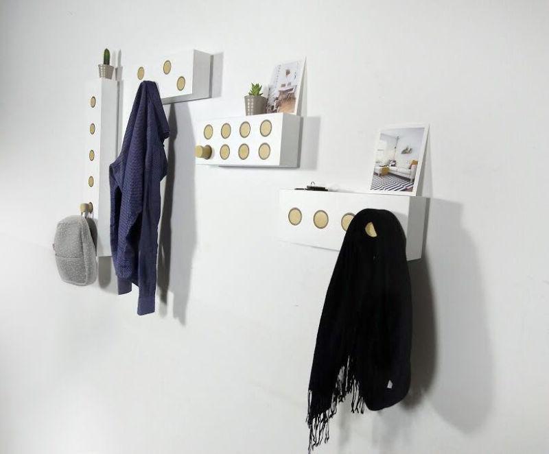 Köllen Tryk modular wall hanger to tidy up your home