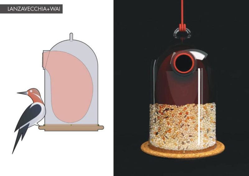 House of Birds: Designers create tiny homes to meet birds ...