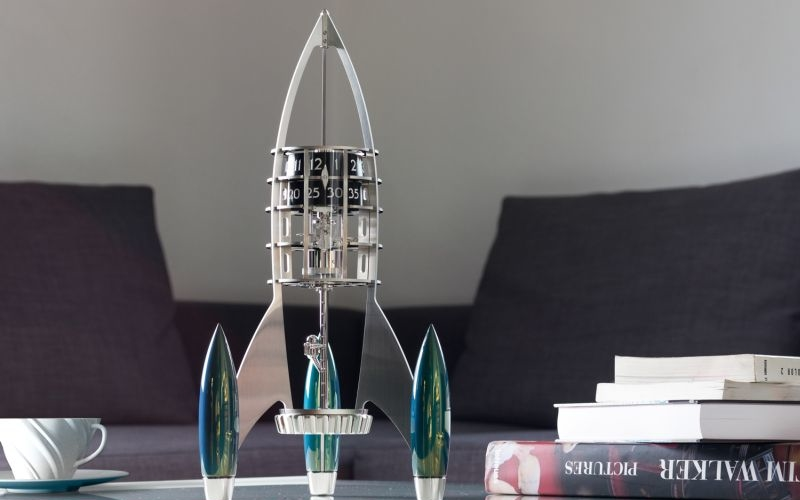 MB&F Destination Moon: Desk Clock that'll outshine your home decor