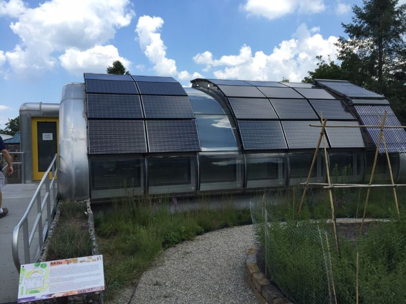 Michigan solar house gets permanent dwellers
