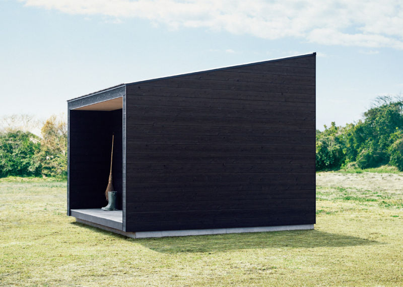 Muji prefab cabin available for purchase at $27k