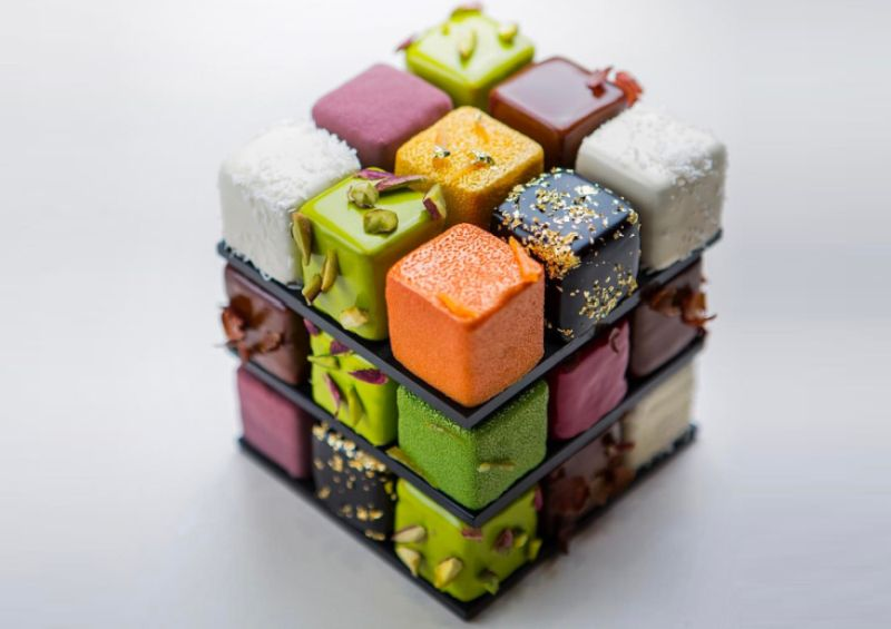 Rubik S Cube Cake By Cedric Grolet Is The New Inspiration