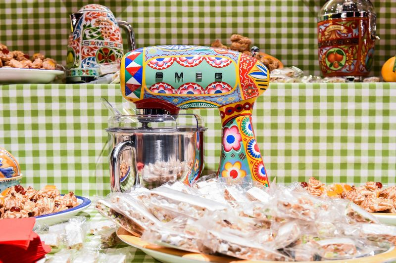 Smeg kitchen appliances get cool makeover by Dolce&Gabbana