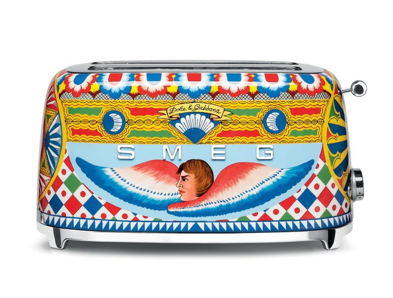 Smeg kitchen appliances get cool makeover by Dolce&Gabbana