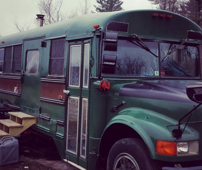 This converted school bus home asks just US$25k