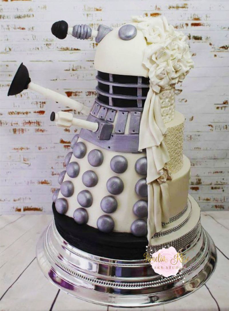 dalek_wedding-cake