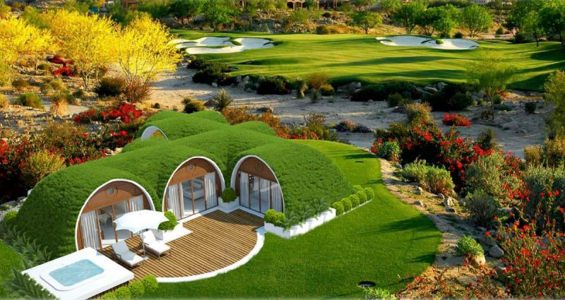Hobbit Homes green magic homes' to make hobbit home a reality
