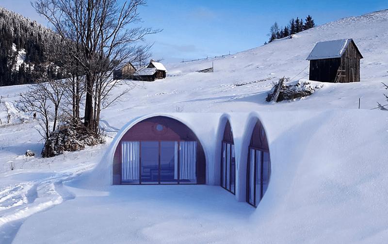 Green Magic Homes To Make Hobbit Home A Reality