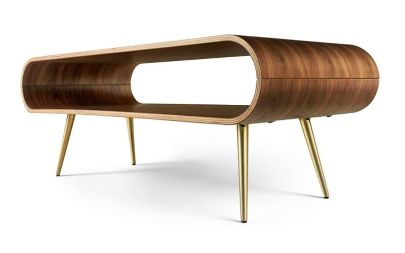 Hooper coffee table and side table bring back 60's design to your home