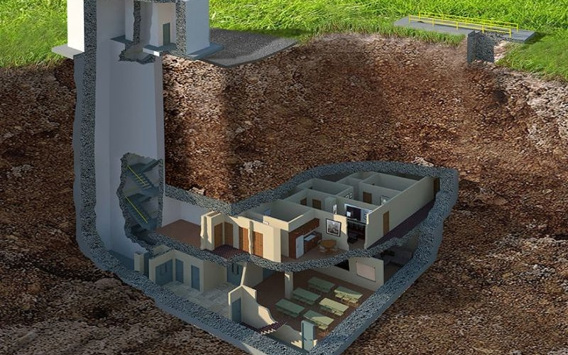 $17.5 million underground nuclear bunker is what we need if WW3 breaks out