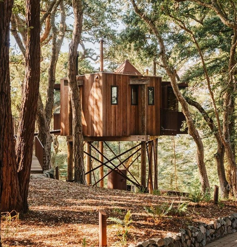 Adults-Only Treehouse at Post Ranch Inn, California