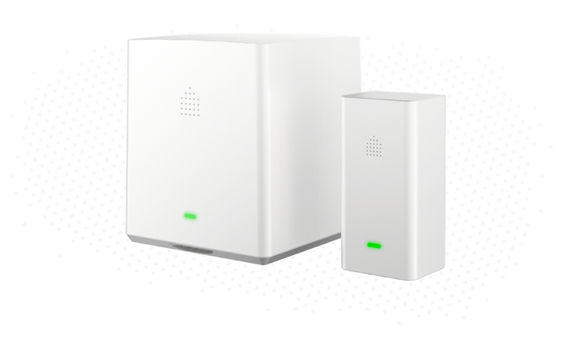Aura home security system uses RF technology to detect intruders