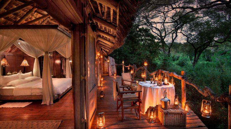 Treehouse Suite at &BEYOND Lake Manyara Tree Lodge in Tanzania