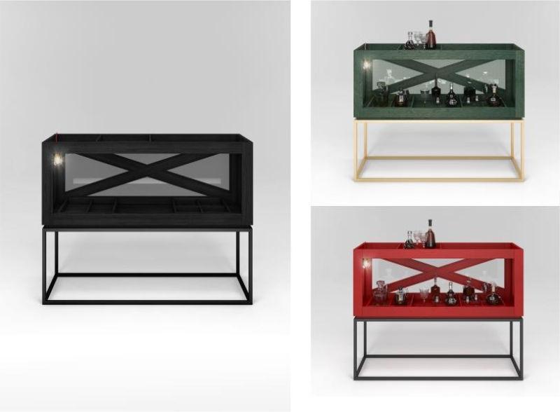 BOX B home bar by Ivan Gorozhankin of WRKBNCH